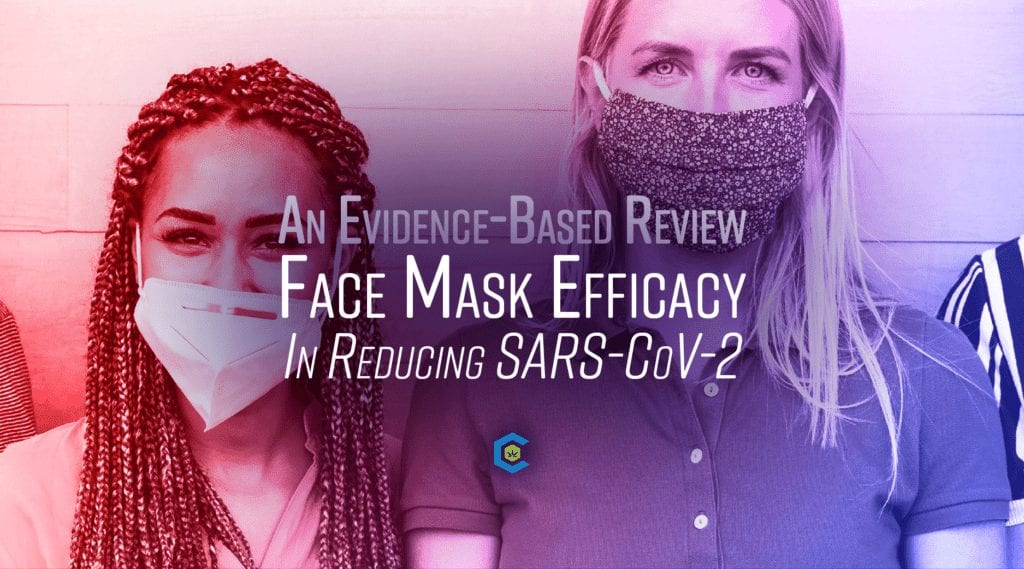 face mask efficacy respiratory borne virus disease